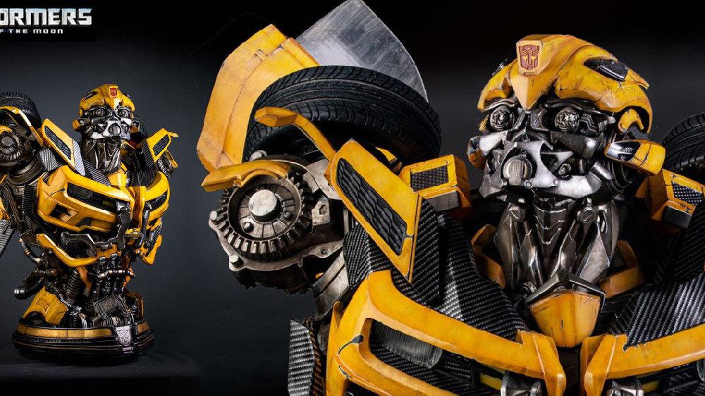 售价一万多的大黄蜂胸像,这细节也太棒了吧!