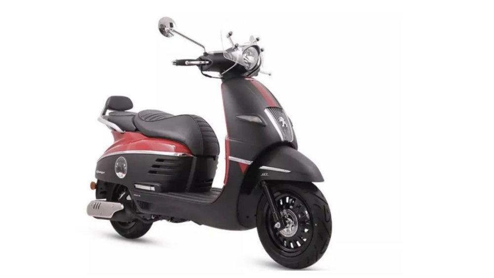 23800元,标致推出全国限量200台的踏板姜戈Club