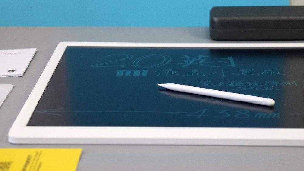 小米米家液晶小黑板20英寸体验:更大的画板,更方便的手写笔收纳