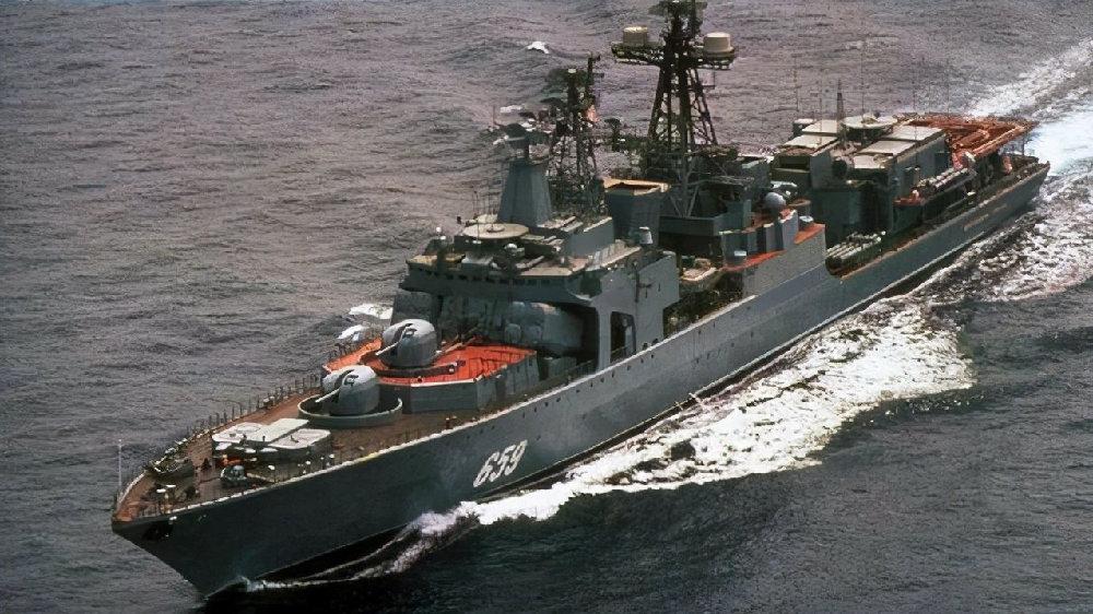 老兵大变身:俄罗斯反潜驱逐舰全面升级为多用途驱逐舰
