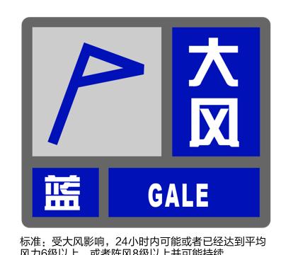上海刚刚发布大风蓝色预警:预计6小时内大部地区有雷雨大风