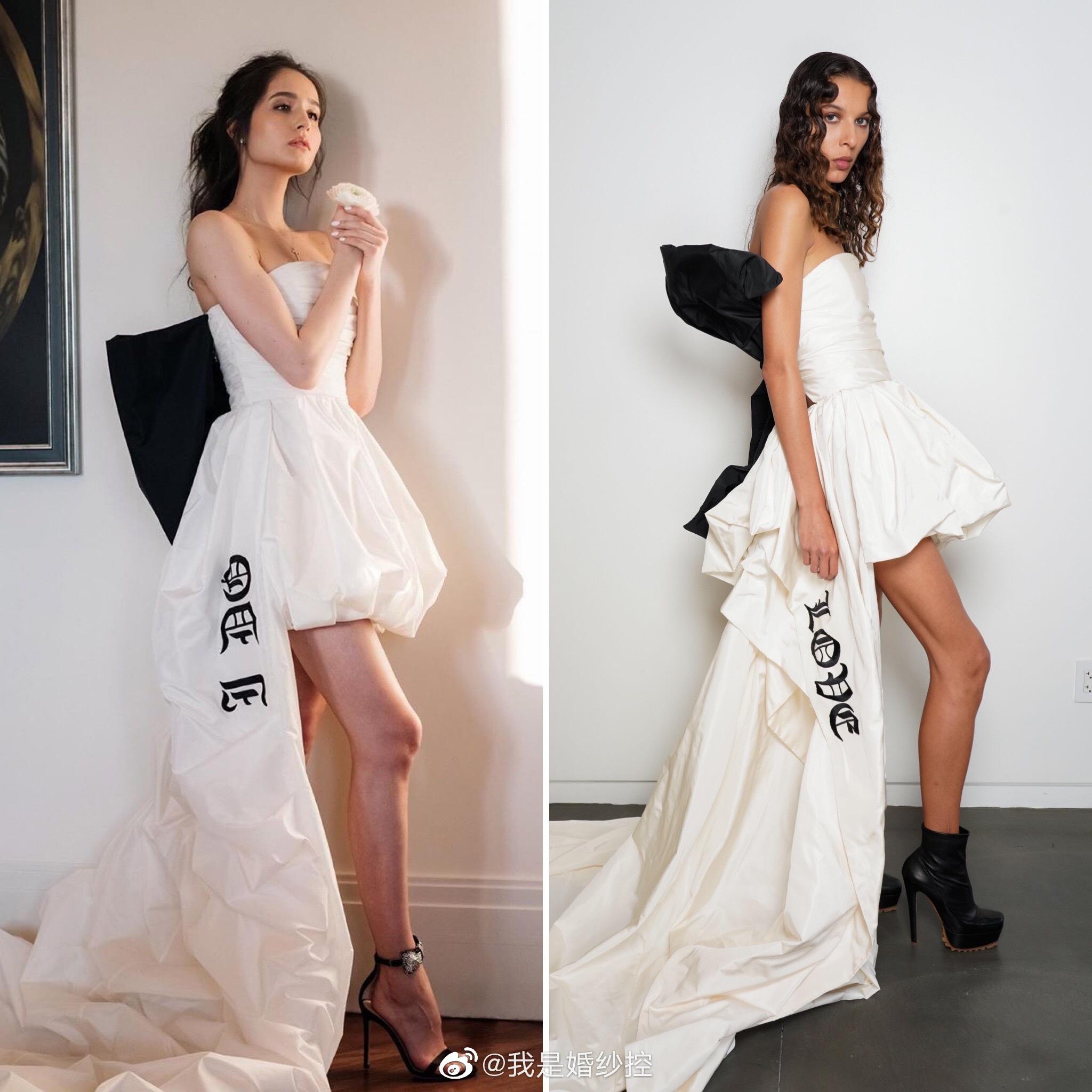 看到Vera Wang新一季朋克风婚纱时候就在想象婚礼上的样子