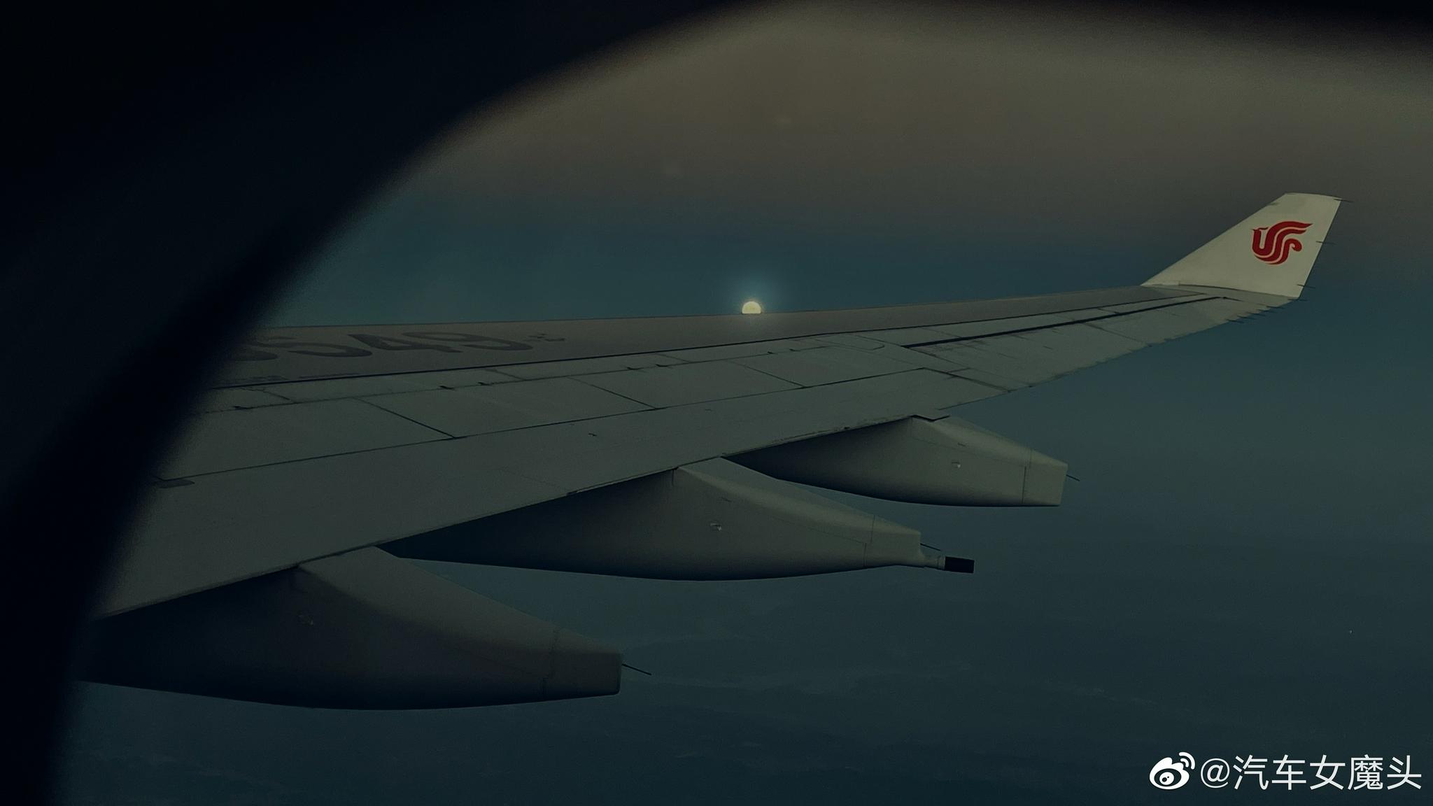 机翅升明月,天涯共此时!