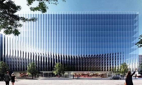 建筑外立面设计,竖线条的运用…