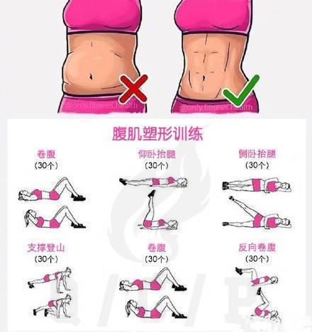 一套集合了手臂、腰腹、臀部及腿部塑形的超全动作!练起来~
