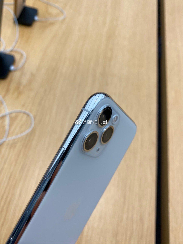 白色版的iphone 11pro真的好好看,虽然已经推出市场快一年了