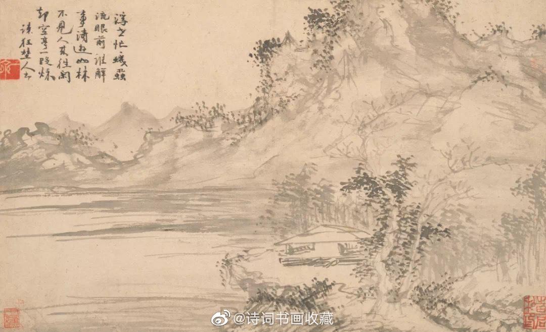 明 郭诩《杂画册》欣赏