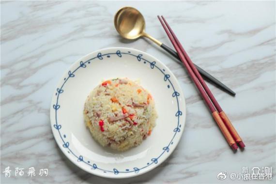 常見的炒飯做法簡單,只需米飯、鹽、雞蛋、蔥花即可