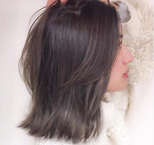 慵懒的bob头真的是凸显的温柔气质的发型