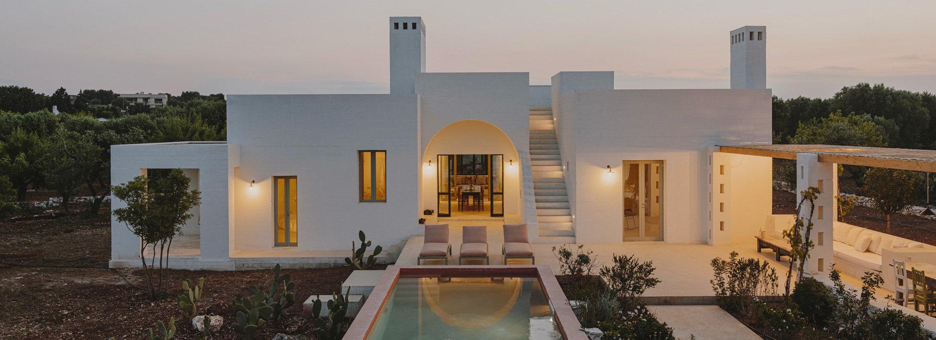 时装设计师打造的意大利别墅民宿 景观、室内、建筑多方位的和谐塑造