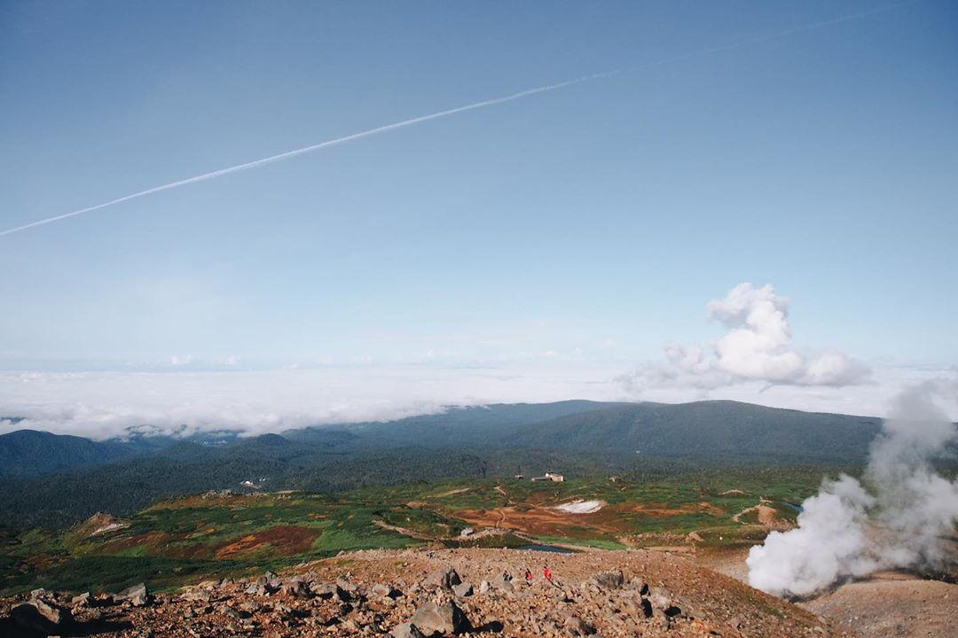 北海道最高峰旭岳大雪山