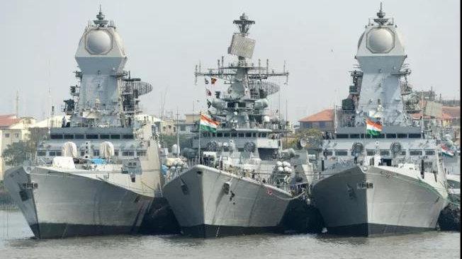 印度在全境海岸线军事演习 专家:旨在强化近海安防 把持印度洋航线