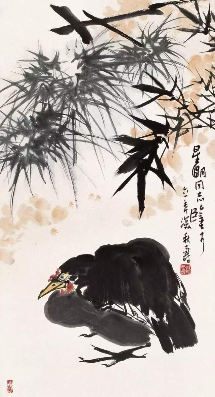 国画巨匠潘天寿高清作品欣赏