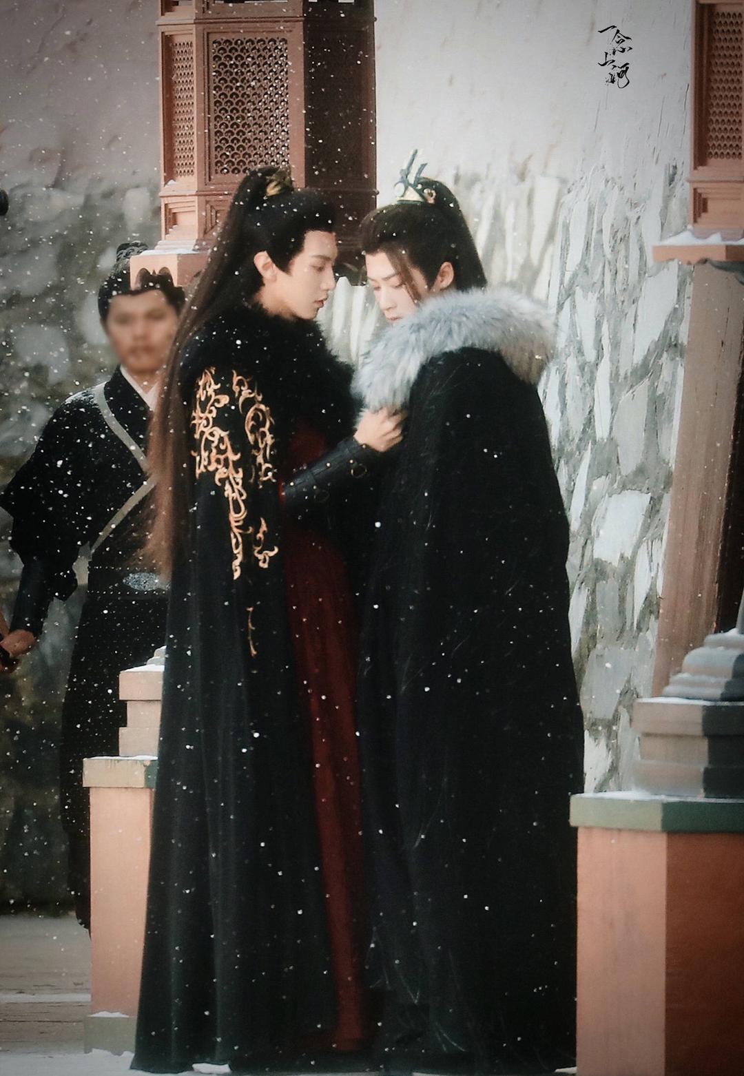 瓦达瓦达!《杀破狼》路透新鲜出炉!图片中是檀健次和陈哲远的雪景