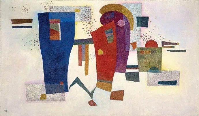 感受瓦西里·康定斯基(Vasily Kandinsky)画面中的律动感