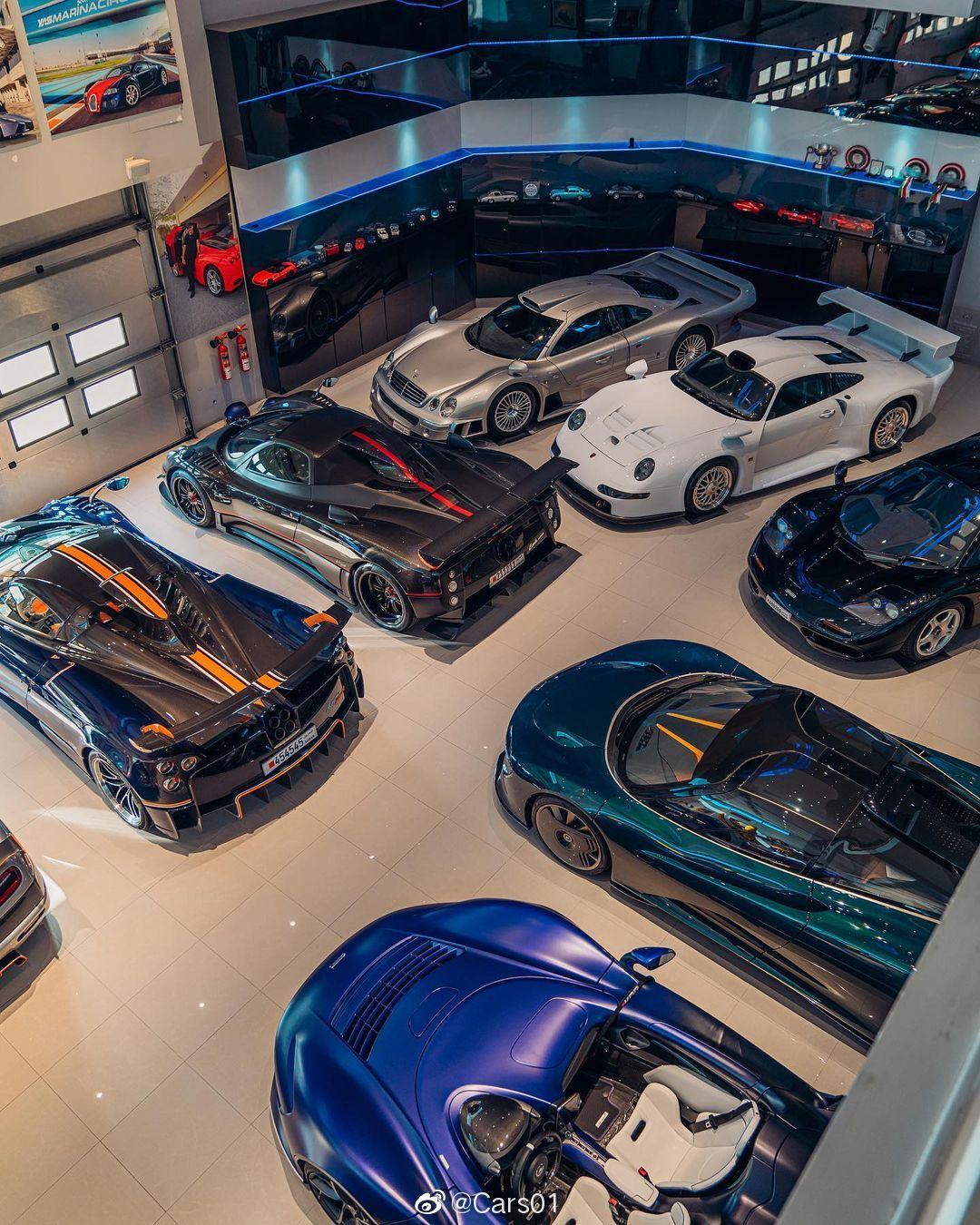 位于巴林的一个车库 (by Alex Penfold)