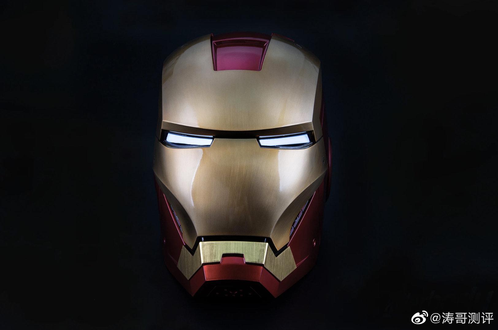 Killer body推出了一款1/1的可穿戴钢铁侠MK7头盔