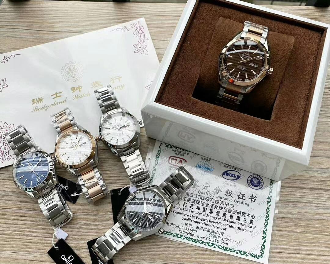 欧米茄 OMEGA  海马系列,男士机械腕表,全新升级版到货