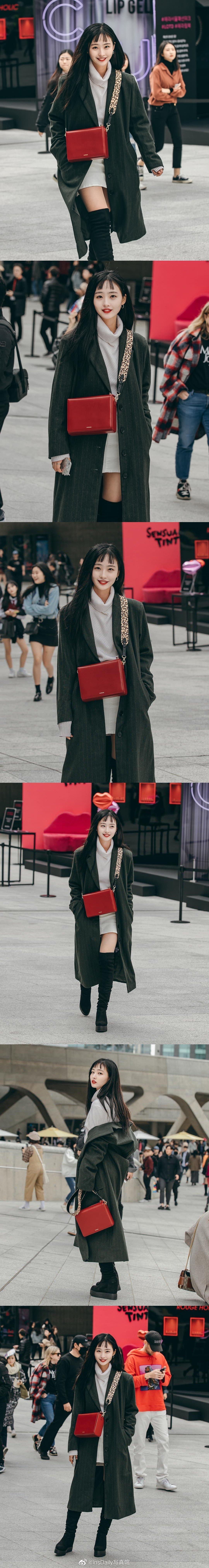 2019年首尔时装周街拍 全是可以出道的水平!
