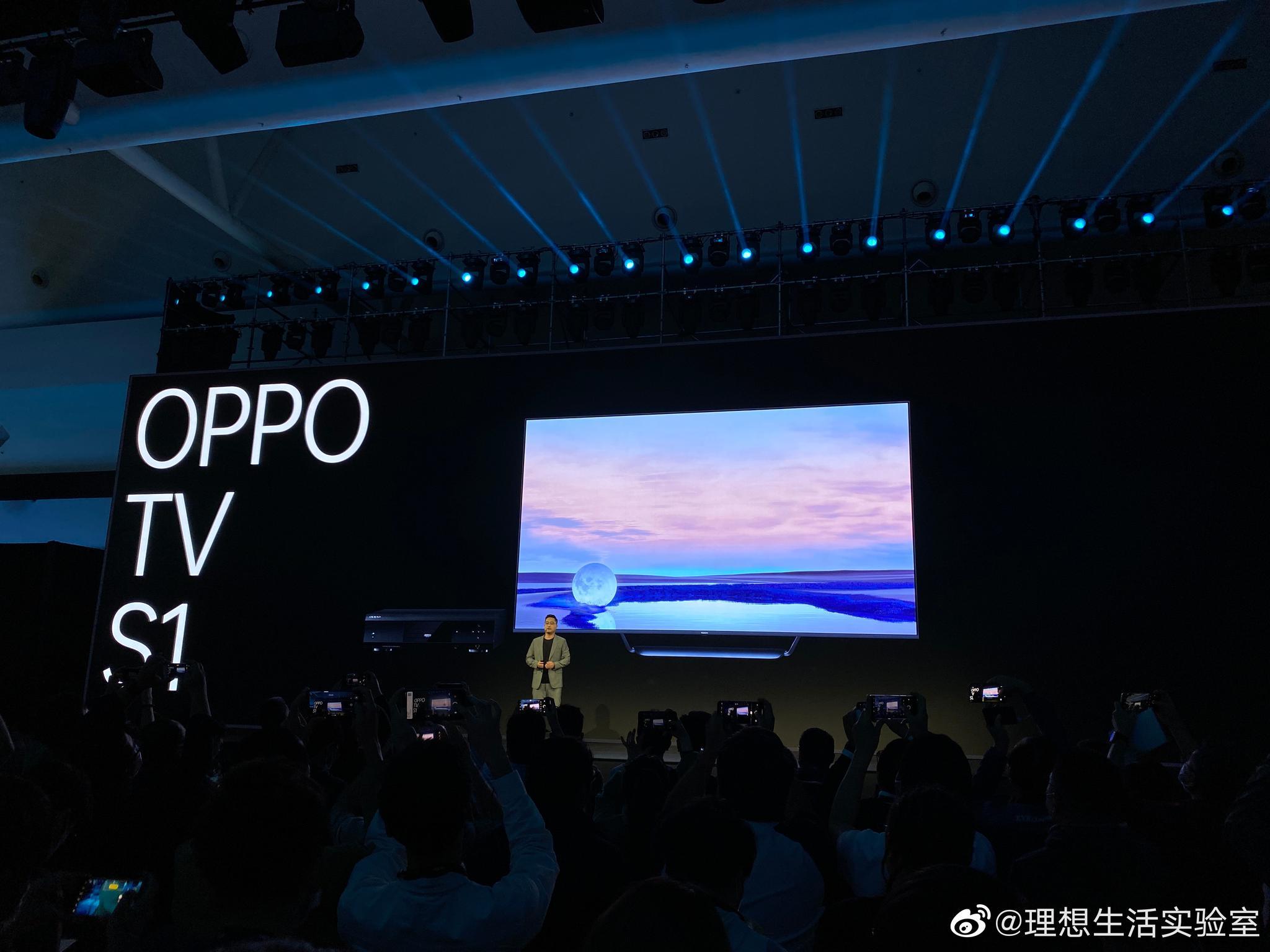 OPPO 正式发布智能电视 OPPO TV S1。量子点 QLED 屏,10.7 亿色