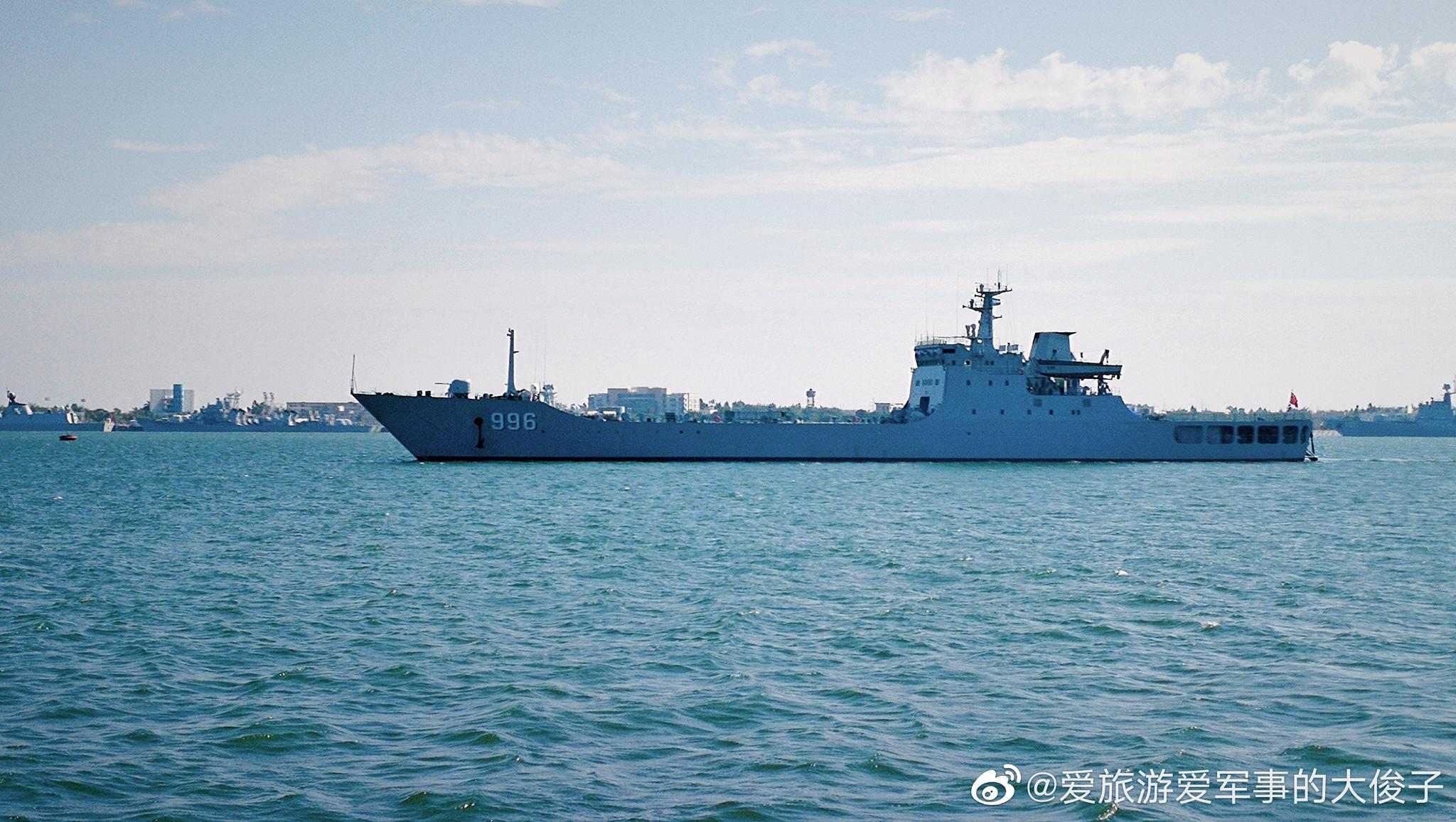 072A型坦克登陆舰996老铁山舰,大连造船厂建造