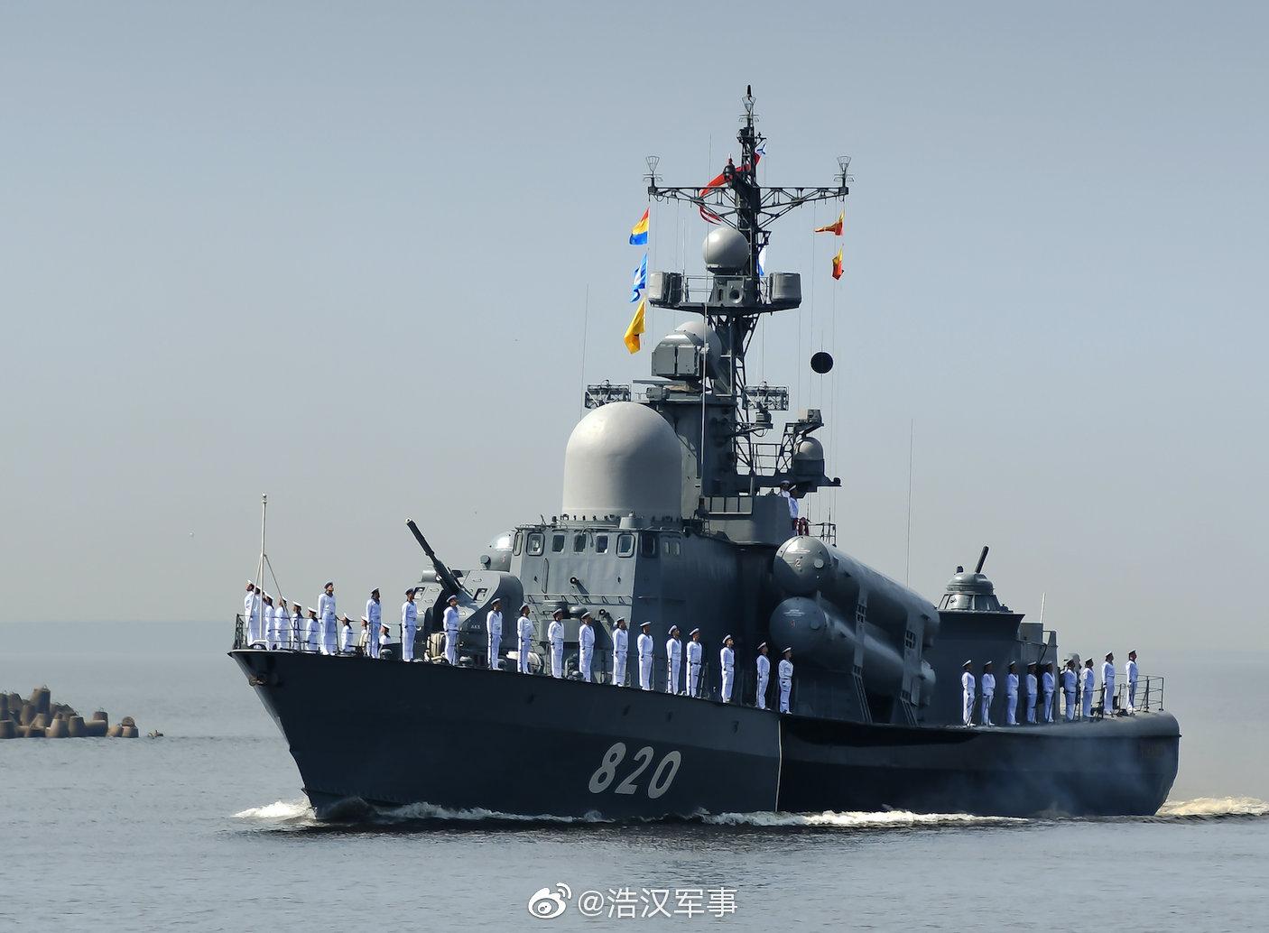 俄国海军在喀琅施塔得的阅舰式,是拍摄条件较好的国际舰队阅兵之一