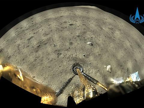 """""""嫦娥五号""""脚下的月球什么样?高清大图来了"""