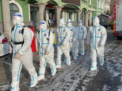 抗击疫情 共度时艰 不忘初心 为民守护||齐齐哈尔市消防救援支队针对防疫场所开展前置备勤工作