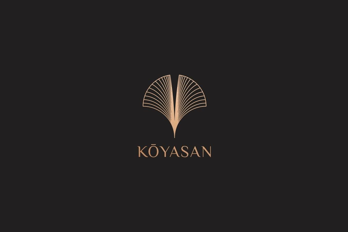 Koyasan法国时装logo设计及品牌形象VI设计