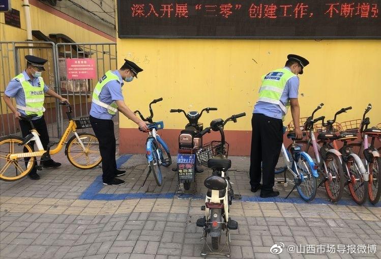 庙前所持续开展城区停车位整治行动    打造交通文明新秩序
