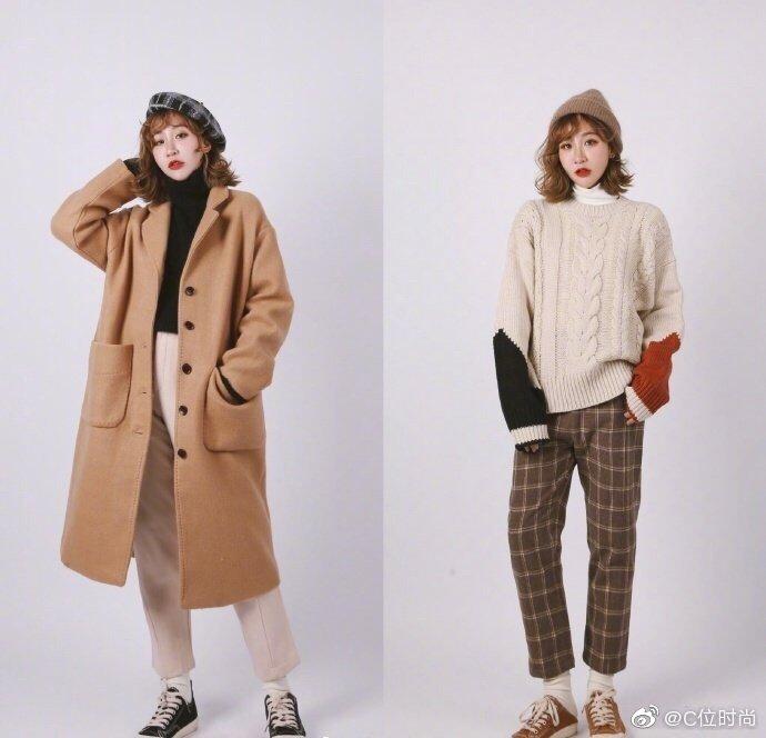 18套奶茶色穿搭参考,温暖又温柔,真的是秋冬必备色吖!