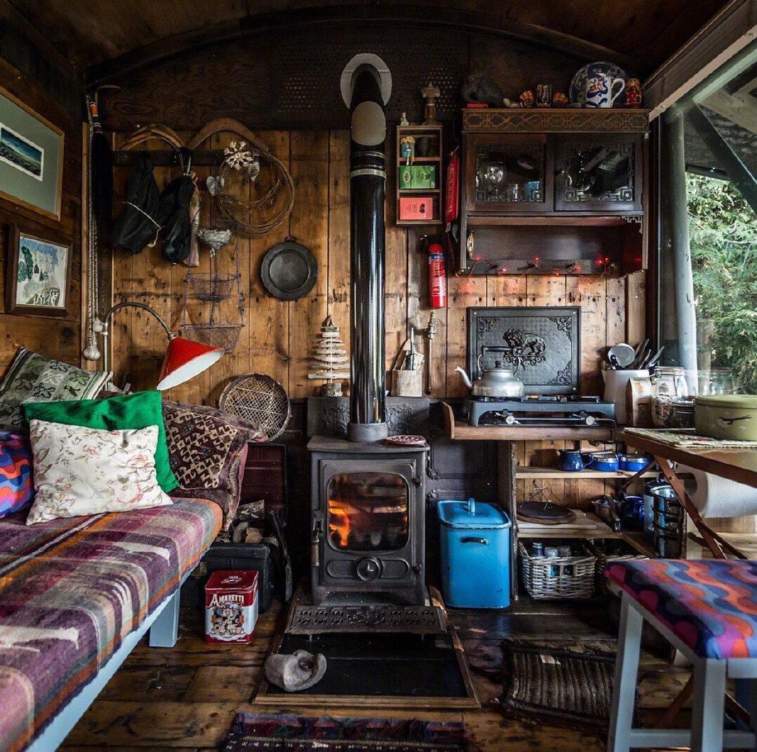 如果在威尔士木制小屋小屋生活一天的话,你会选择和谁一起来