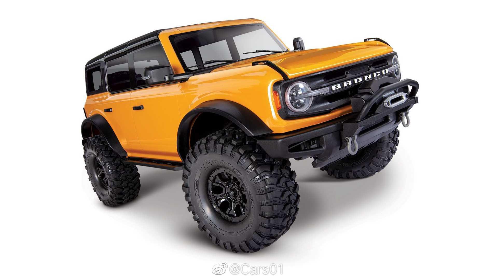 Traxxas推出1:10比例的全新福特Bronco遥控车……