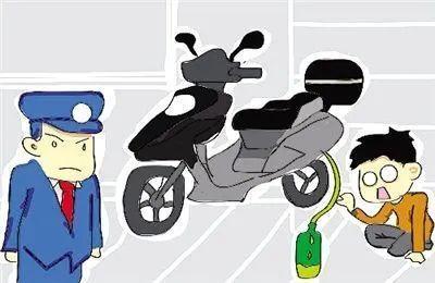兴宁一少年偷汽油被抓 发现竟两次盗窃摩托车