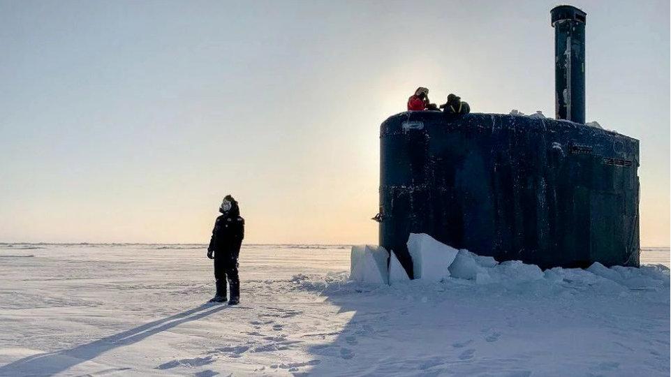 """美国海军发布新版""""北极战略蓝图"""""""