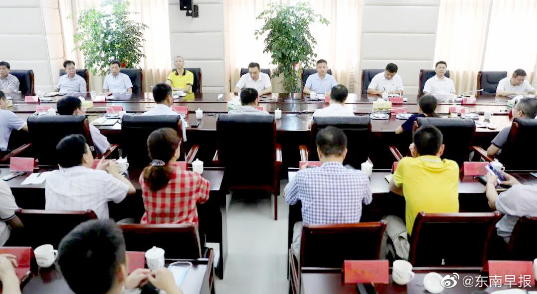 8月11日上午,泉州台商投资区召开全区领导干部大会