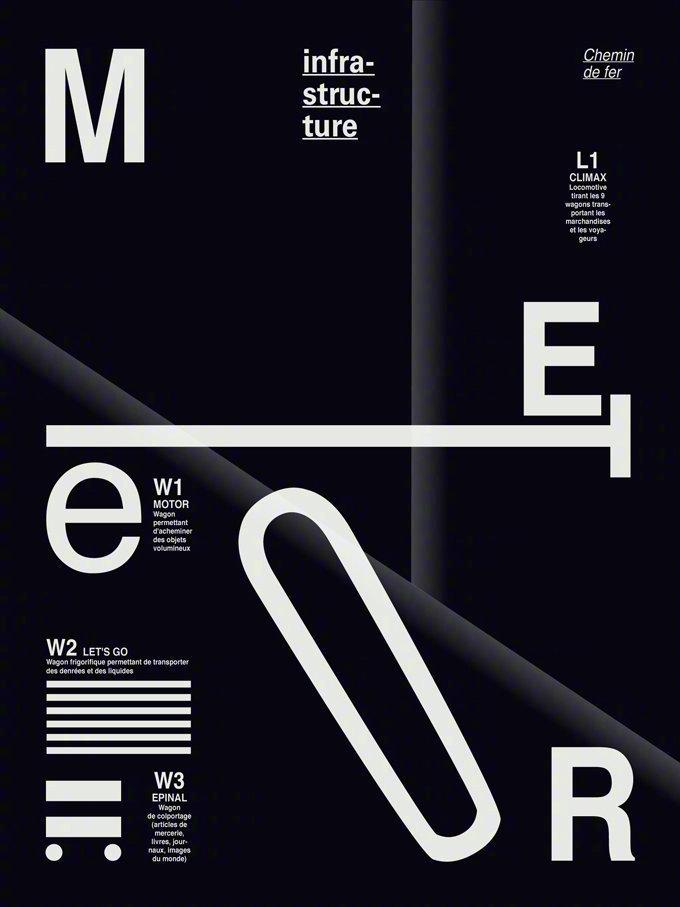 一组创意字体海报设计欣赏 :Wendy Studio