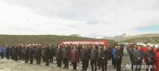 青海省委书记、省长等省导游 然后去木里
