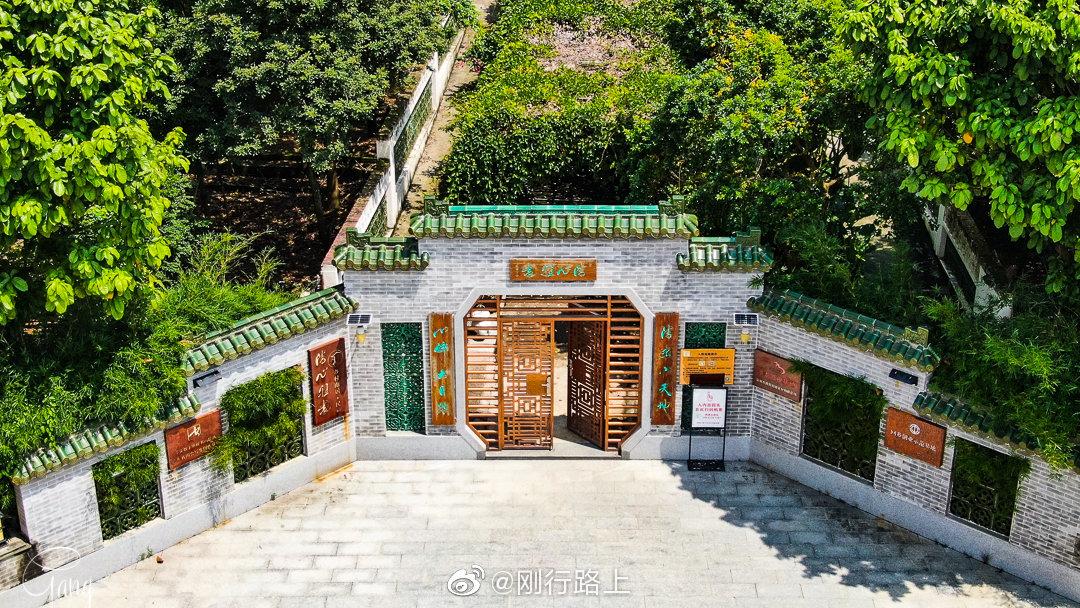 清心雅园坐落于四会市江谷镇老泗塘村,建筑风格以岭南园林为主