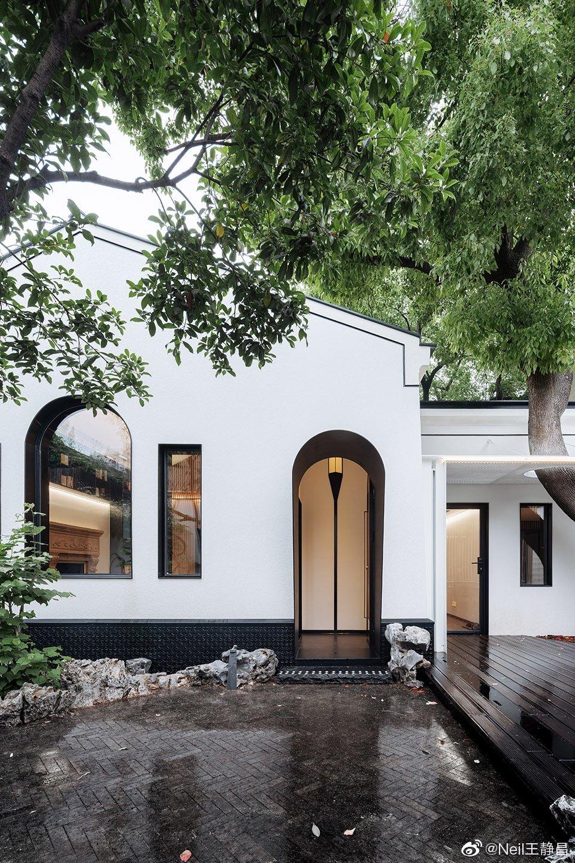 上海市中心带有一个黑院子的隐秘收藏者之家—— 一米藏