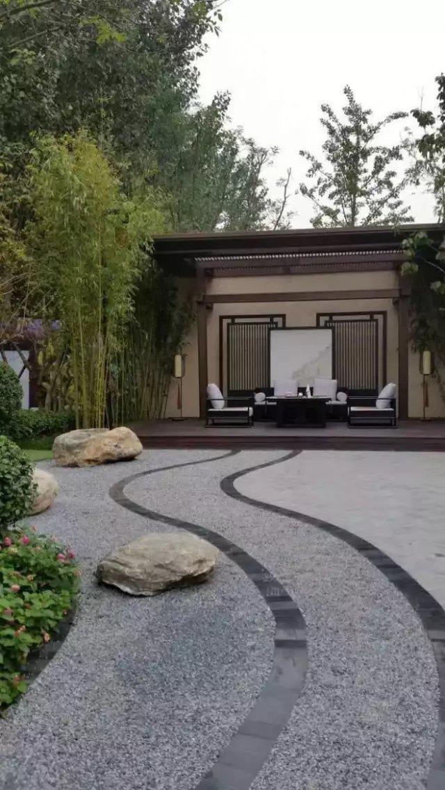 庭院铺装,美……