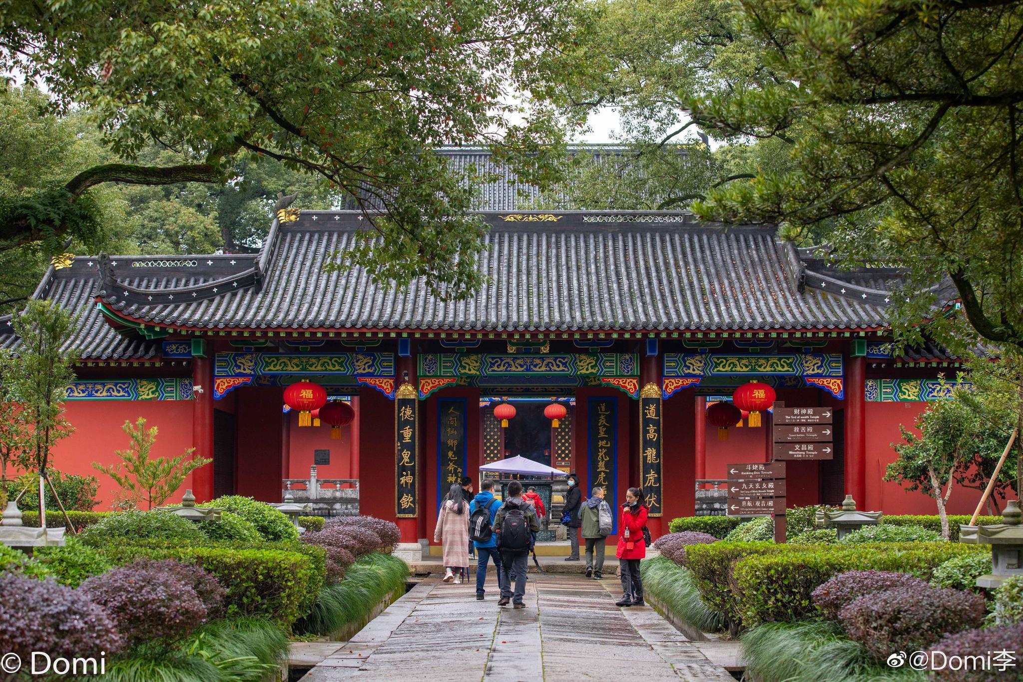 上清古镇已经有上千年的历史,该镇属龙虎山风景区