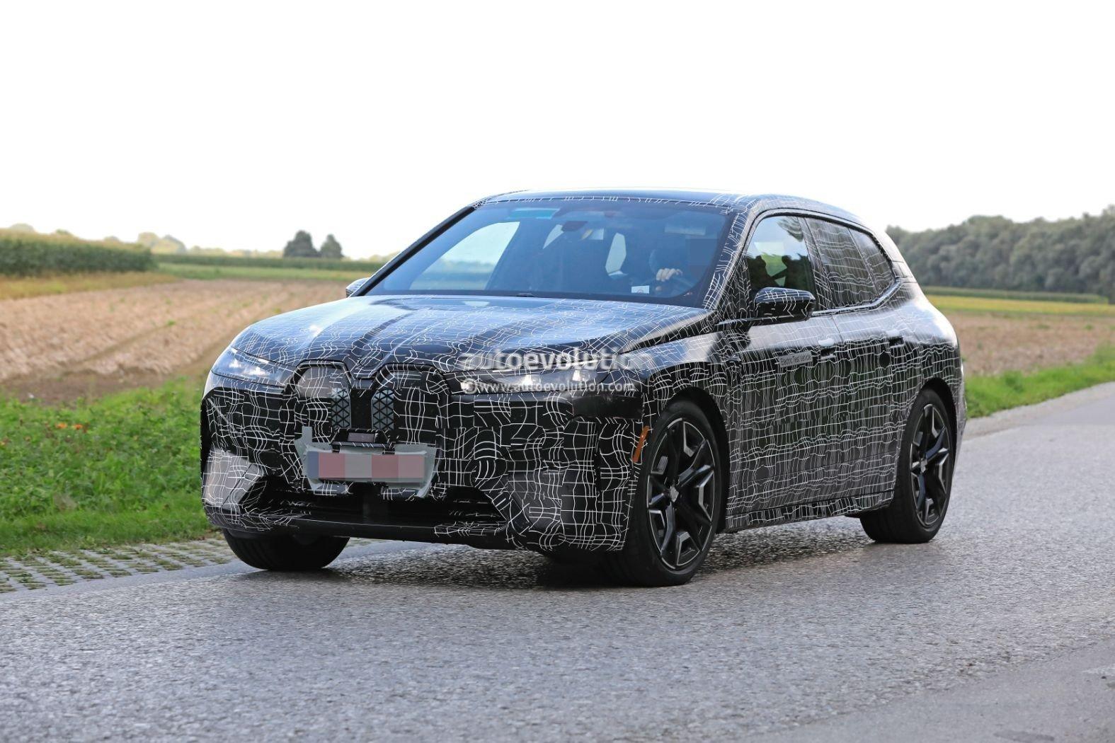 宝马iNEXT性能版谍照曝光,新车或将命名为iX M50e xDrive