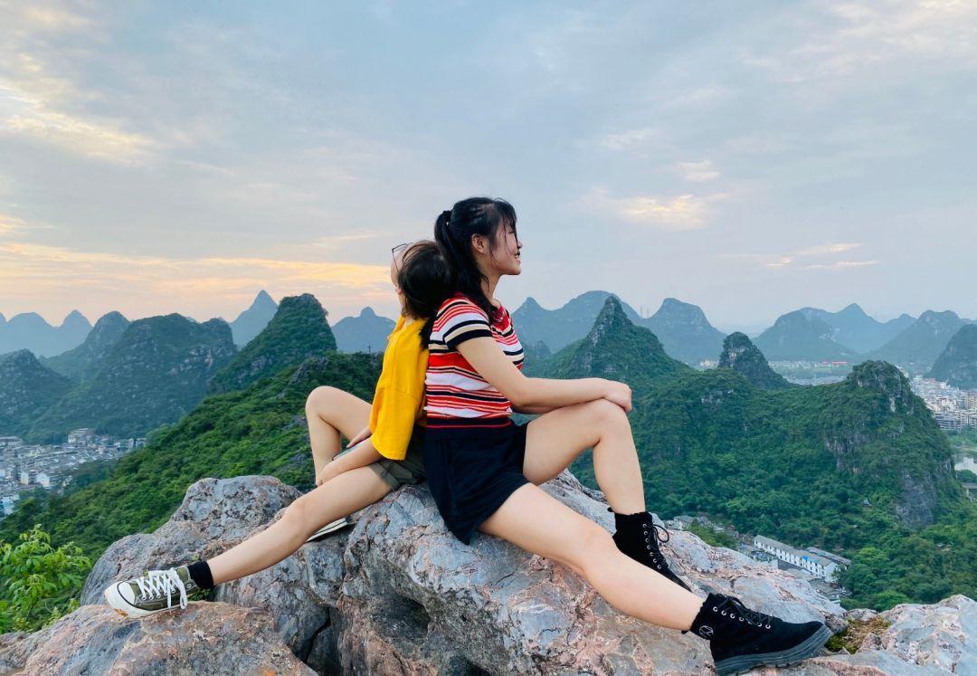 义工投稿:最近桂林是一座被雨水青睐的城市,已经持续很久了