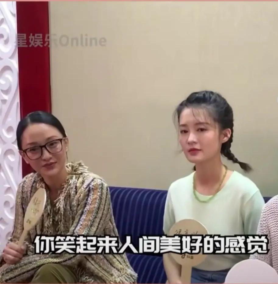 天呐,乔欣、李沁傻傻分不清楚,果然美女都是相似的