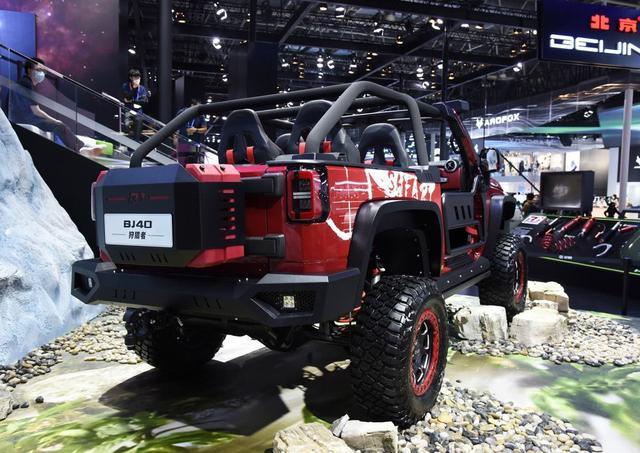北京越野最霸气SUV!BJ40狩猎者发布,外观比牧马人更狂野!