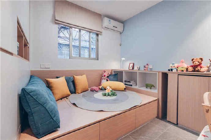 58平学区房变成北欧风格小三房