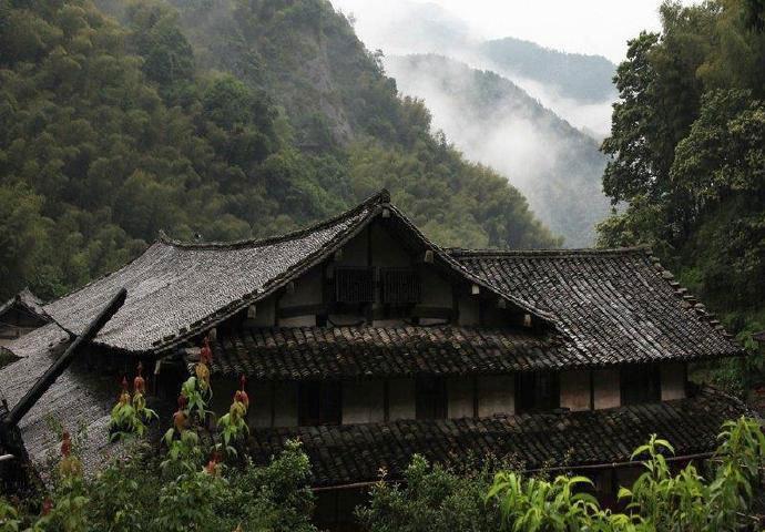 楠溪江林坑村,江南的世外桃源,保存最完美的山地民居。