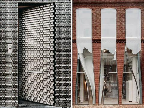 LV 的新店面竟然不走奢华风,改用不锈钢砖做外墙?