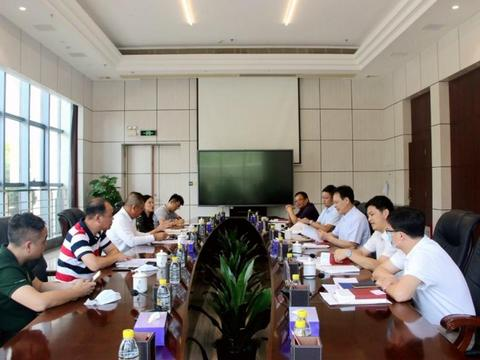 南粤集团副总经理乔梁拜访中山市常务副市长杨文龙